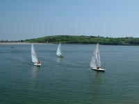 Racing Laser's by the Youghal  Quay.  Every Sunday, visitors welcome. Pictures of beautiful Youghal, Cork, Ireland