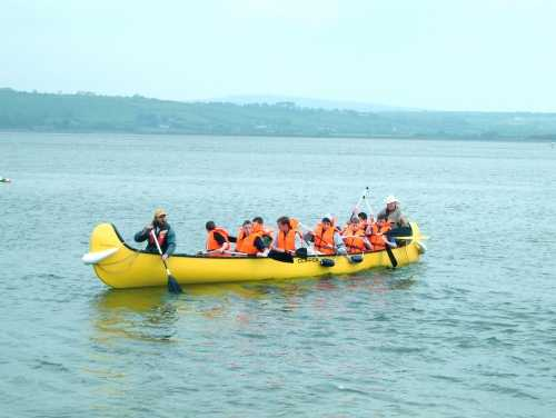 Canadian Canoes, Youghal, A great pleasure trip up the River Blackwater.